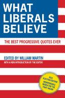 What Liberals Believe Pdf/ePub eBook