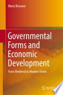 Governmental Forms and Economic Development