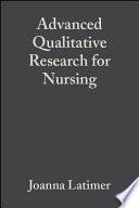 Advanced Qualitative Research For Nursing