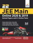 22 JEE Main Online 2019 & 2020 Solved Papers with FREE 5 Online Mock Tests 3rd Edition ebook