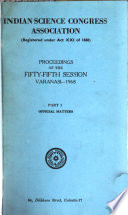 Proceedings of the ... Indian Science Congress