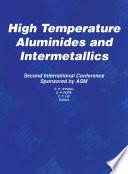 High Temperature Aluminides and Intermetallics