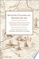 Societies  Cultures and Kinship 1580 1850 Book