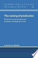 The Raising of Predicates