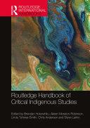 Routledge Handbook of Critical Indigenous Studies Pdf/ePub eBook