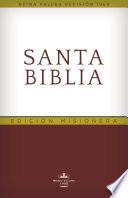 RVR60 Santa Biblia - Edición Misionera