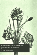 Carnations and Picotees for Garden and Exhibition