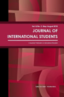 Journal of International Students, 2018 Vol. 8(2)