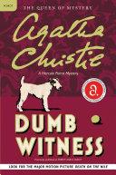 Dumb Witness Book