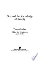 God and the Knowledge of Reality
