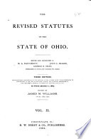 The Revised Statutes of the State of Ohio