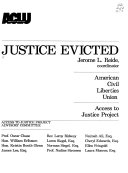 Justice Evicted