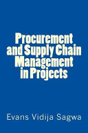 Procurement and Supply Chain Management in Projects