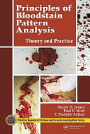 Principles of Bloodstain Pattern Analysis Book