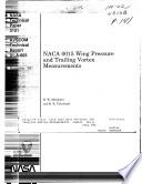NACA 0015 Wing Pressure and Trailing Vortex Measurements Book