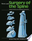 Surgery of the Spine Book