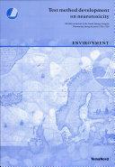 Test Method Development on Neurotoxicity