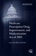 Medicare Prescription Drug, Improvement, and Modernization Act of 2003
