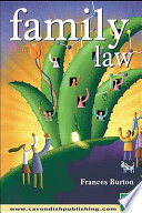 """Family Law"" by Frances Burton"