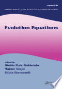 Evolution Equations