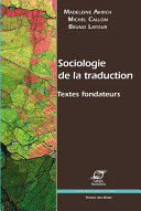 Pdf Sociologie de la traduction