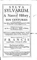 Sylva Sylvarum  Or  A Natural History  in Ten Centuries