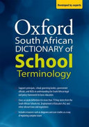 Books - Oxford South African Dictionary Of School Terminology | ISBN 9780190441067