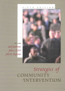 Cover of Strategies of Community Intervention