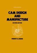 Cam Design and Manufacture, Second Edition Pdf/ePub eBook