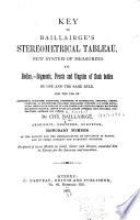 Key to Baillairgé'stereometrical Tableau