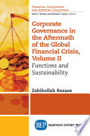 Corporate Governance in the Aftermath of the Global Financial Crisis, Volume II