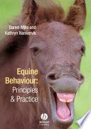 Equine Behaviour Book
