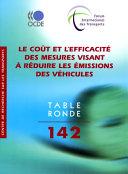 Cover image of Le coût et l'efficacité des mesures visant à réduire les émissions des véhicules
