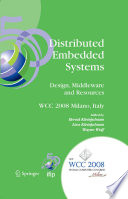 Distributed Embedded Systems  Design  Middleware and Resources