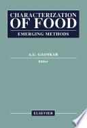 Characterization of Food Book