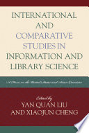 International and Comparative Studies in Information and Library Science Book