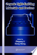 Organic Light Emitting Materials and Devices Book