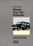 Ninty One Ten Defender Book
