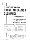 Example sections for a smoke regualation ordinance  informat