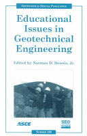 Educational Issues In Geotechnical Engineering