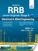Guide To Rrb Junior Engineer Stage Ii Electrical Allied Engineering 3rd Edition