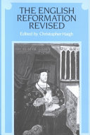 The English Reformation Revised