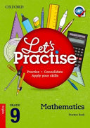 Books - Oxford Lets Practise Mathematics Grade 9 Practice Book | ISBN 9780199043217