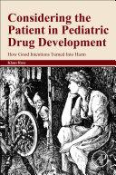 Considering The Patient In Pediatric Drug Development Book PDF
