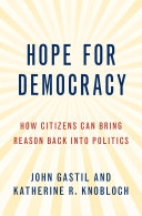 Hope for Democracy Pdf/ePub eBook