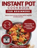 Nstant Pot Cookbook For Beginners Book PDF