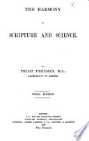 The Harmony of Scripture and Science     Third Edition