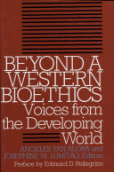 Pdf Beyond a Western Bioethics Telecharger