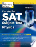 Cracking the SAT Subject Test in Physics  16th Edition