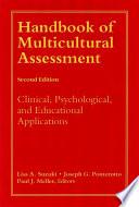 Handbook of Multicultural Assessment Book